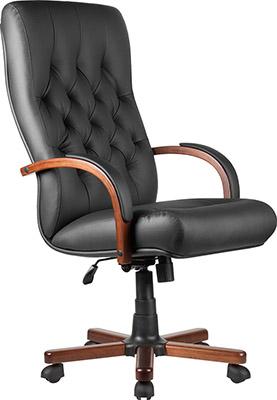 Кресло Riva Chair М 175 A Laguna Тай Чёрная кожа