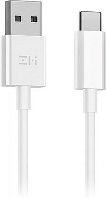 Кабель Zmi USB/Type-C 100 см 5A (AL705) белый кабель xiaomi zmi al705 usb type c zmi 100cm black