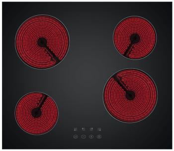 цена на Встраиваемая электрическая варочная панель Simfer H 60 D 14 B 001
