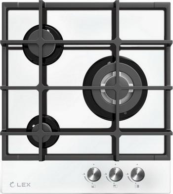 Встраиваемая газовая варочная панель Lex GVG 431 WH цена и фото
