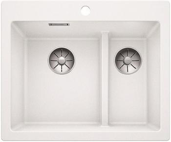 Кухонная мойка Blanco PLEON 6 Split белый без клапана 521693 цена