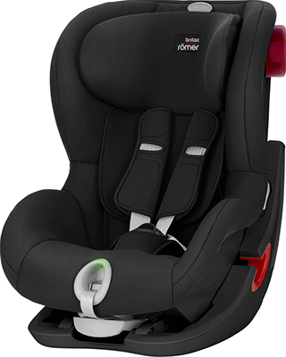 Автокресло Britax Roemer King II LS Black Series Cosmos Black Trendline 2000025253 автокресло britax romer king ii ls black series football edition highline