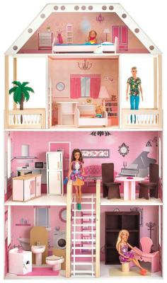 Кукольный домик Paremo Поместье Монтевиль (с мебелью) PD 318