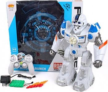 Робот Наша игрушка 2135-1 робот электронный наша игрушка барабанщик со звуком 58645
