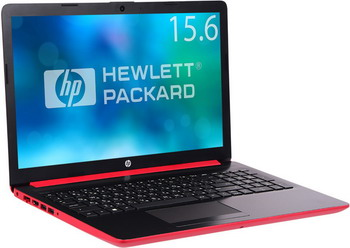 Ноутбук HP 15-db 0174 ur  Ryzen 5-2500 U (Scarlet Red) scarlet feather