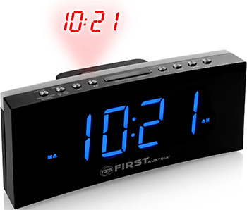 Радиочасы First FA-2420-4 Black цена