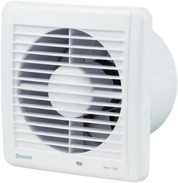 Вытяжной вентилятор BLAUBERG Aero 150 H белый фото