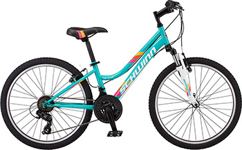 Велосипед Schwinn High Timber S 2449 CINT 24 Girls светло-голубой велосипед specialized hotrock 24 21 speed girls 2016