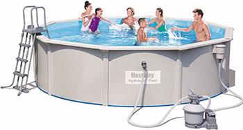 цена на Бассейн BestWay Hydrium Pool Set 460х120 17430 л 56384 BW