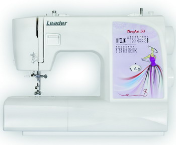 Швейная машина Leader NewArt 50 швейная машина leader vs 318 4640005570144