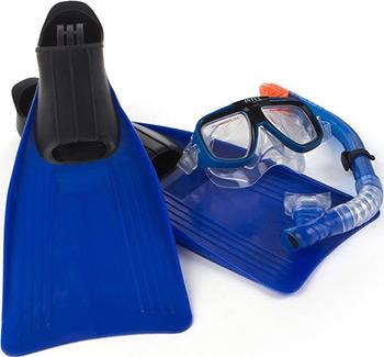 Комплект для плавания Intex ''Reef Rider Sports'' от 8 лет 55957 круг для плавания детский intex ocean reef 61см 59242