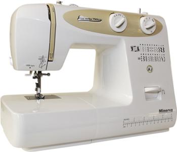 Швейная машина Minerva La Vento 750 LV швейная машина minerva la vento 710lv белый розовый