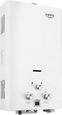 Газовый водонагреватель Oasis OR-12 W белый водонагреватель oasis or 20w