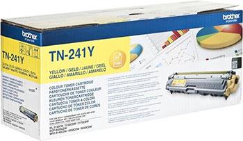 Тонер-картридж Brother TN 241 Y желтый тонер картридж tn 511