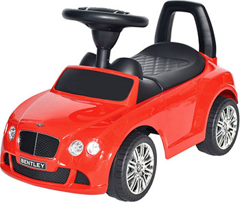 Автомобиль-каталка Everflo Bentley Continental GT Speed EC-626 красный ПП100004304 каталка everflo м002 1 красный от 3 лет металл м002 1