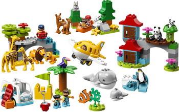 Конструктор Lego DUPLO Town 10907 Животные мира цена