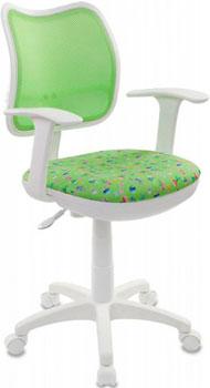 Кресло детское Бюрократ CH-W797/SD/CACTUS-GN салатовый кресло детское бюрократ ch w797 sd cactus gn спинка сетка салатовый сиденье зеленый кактусы cactus gn