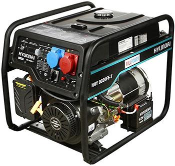 Электрический генератор и электростанция Hyundai HHY 9020FE-T hyundai matrix расход топлива