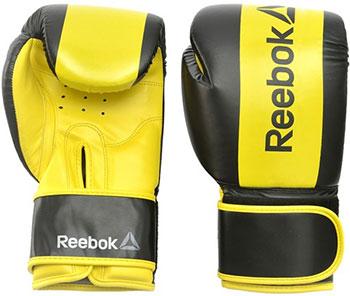 Перчатки боксерские Reebok Retail 12 oz Boxing Gloves - Yellow RSCB-11112YL