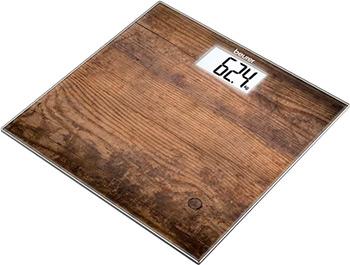 все цены на Весы напольные Beurer GS 203 Wood онлайн