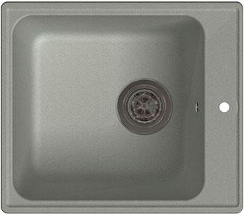 Кухонная мойка Lex Balaton 420 Space Gray серый lex balaton 420 sand