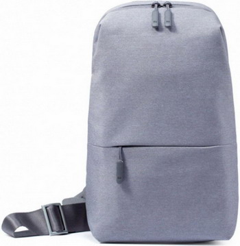 Рюкзак Xiaomi Mi City Sling Bag (Light Grey) ZJB4070GL рюкзак xiaomi mi mini backpack 10l light blue