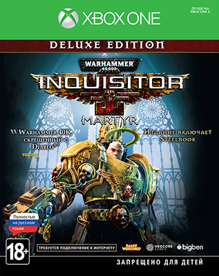 Фото - Игра для приставки Microsoft Xbox One Warhammer 40 000: Inquisitor - Martyr. Deluxe Edition cd led zeppelin ii deluxe edition
