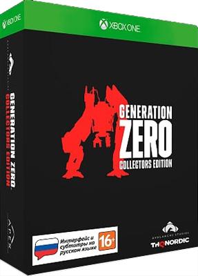 Игра для приставки Microsoft Xbox One Generation Zero Коллекционное издание
