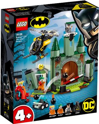 Конструктор Lego Бэтмен и побег Джокера 76138 конструктор lego batman movie нападение на бэтпещеру 70909