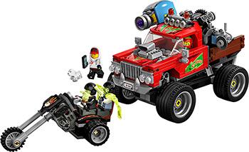 Конструктор Lego Трюковый грузовик Эль-Фуэго 70421