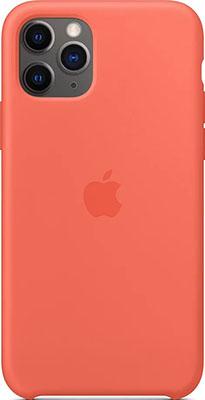 Фото - Чехол (клип-кейс) Apple Silicone Case для iPhone 11 Pro Clementine (Orange) MWYQ2ZM/A чехол клип кейс apple silicone case для iphone 8 7 цвет product red красный mqgp2zm a