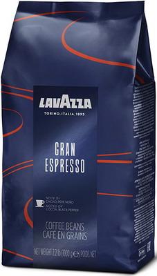 Кофе зерновой Lavazza Gran Espresso Bag 1кг кофе зерновой lavazza super crema bag 1кг