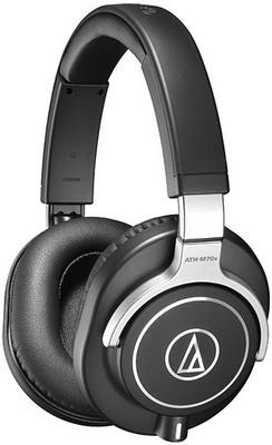 Накладные наушники Audio-Technica ATH-M70X Black audio technica ath m70x