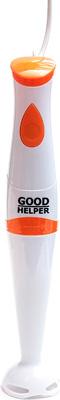 Погружной блендер GoodHelper HB-311 белый/оранж блендер goodhelper hb 311set