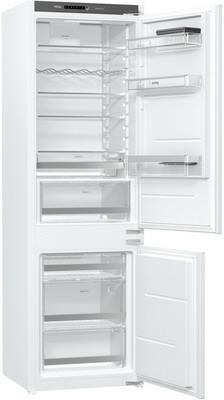 Встраиваемый двухкамерный холодильник Korting KSI 17877 CFLZ встраиваемый однокамерный холодильник korting ksi 8256
