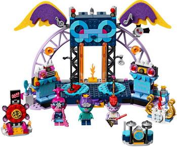 Конструктор Lego TROLLS ''Концерт в городе Рок-на-Вулкане'' 41254 конструктор unicon концерт 67 деталей 1925739