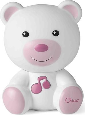 Ночник Chicco Медвежонок Dreamlight (розовый) 00009830100000
