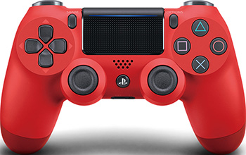Беспроводной геймпад Sony Dualshock4v2 (CUH-ZCT2E)  красный