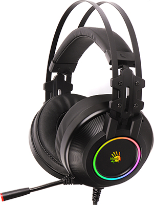 Аудио гарнитура игровая проводная A4Tech Bloody G528C черный аудио гарнитура игровая проводная a4tech bloody j437 черный