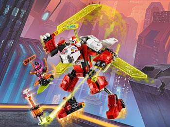 Конструктор Lego Ninjago Реактивный самолёт Кая 71707