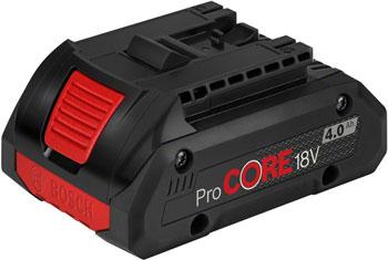 Фото - Аккумулятор Bosch Li-ion ProCORE 18V 4.0 А*ч 1600A016GB аккумулятор для bosch li ion любые инструменты и зарядные устройства bosch класса 18 в