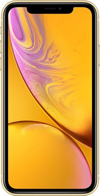 Смартфон Apple iPhone XR 128GB Yellow(MH7P3RU/A) смартфон apple iphone xr dual sim 256gb yellow желтый
