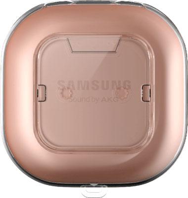 Фото - Защитный чехол Samsung araree Player Cover прозрачный для Galaxy Buds Live (GP-FPR180KDCTR) printio чехол для samsung galaxy s7 объёмная печать динозавры фэнтези raptor