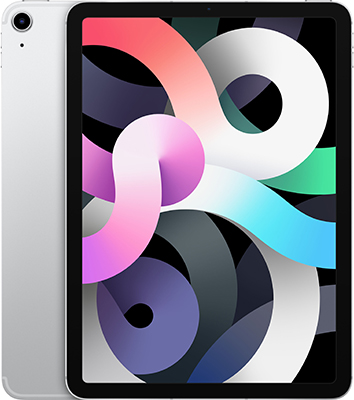 Планшет Apple 10 9-inch iPad Air (2020) Wi-Fii & Cellular 256 GB серебистый (MYH42RU/A) планшет apple 10 9 inch ipad air 2020 wi fii