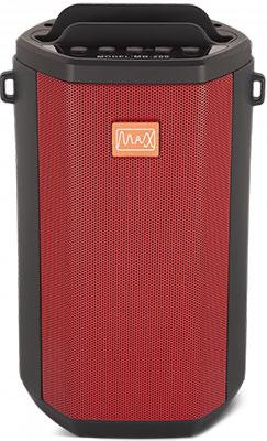 Портативная акустика MAX MR-280 Red