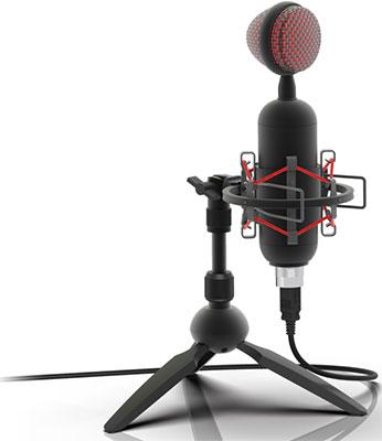 Фото - Микрофон настольный Ritmix RDM-230 USB Eloquence Black микрофон проводной thomson m152 3м black