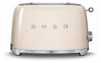 Тостер Smeg TSF 01 CREU кремовый чайник smeg стиль 50 х годов 2400 вт кремовый 1 7 л нержавеющая сталь klf03creu