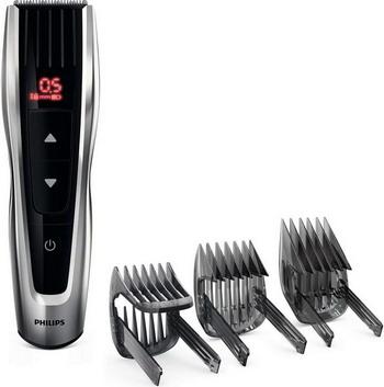 Машинка для стрижки волос Philips HC 7460/15 Hairclipper series 7000 черный/серебристый недорого