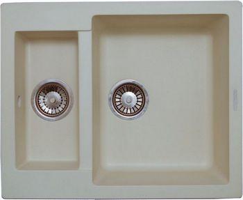 Кухонная мойка LAVA D.1 (CREMA кремовый)