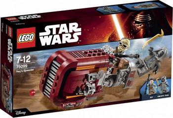 цена на Конструктор Lego Star Wars Спидер Рей 75099